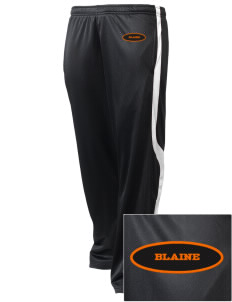 Blaine High School Blaine Borderites Embroidered Holloway Men's Tricotex Warm Up Pants