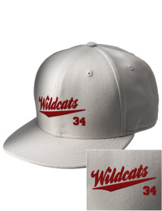 Toppenish High School Wildcats  Embroidered New Era Flat Bill Snapback Cap
