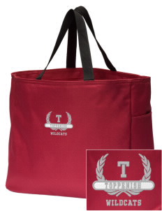 Toppenish High School Wildcats Embroidered Essential Tote