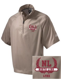 North Linn Elementary School Lynx Embroidered adidas Men's ClimaProof Wind Shirt