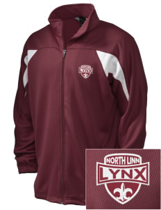 North Linn Elementary School Lynx Embroidered Holloway Men's Full-Zip Track Jacket