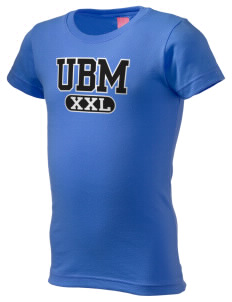 University Baptist Montessori Lamps  Girl's Fine Jersey Longer Length T-Shirt