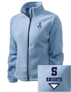 Springs Academy Knights Embroidered Women's Fleece Full-Zip Jacket