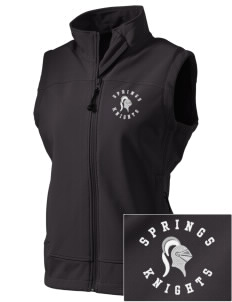 Springs Academy Knights  Embroidered Women's Glacier Soft Shell Vest