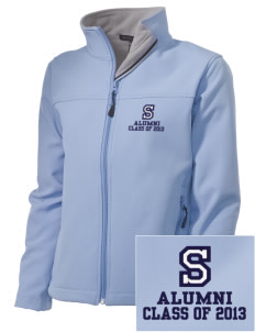 Springs Academy Knights Embroidered Women's Soft Shell Jacket
