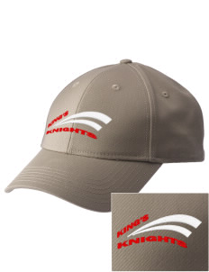 King's Junior High School Knights  Embroidered New Era Adjustable Structured Cap