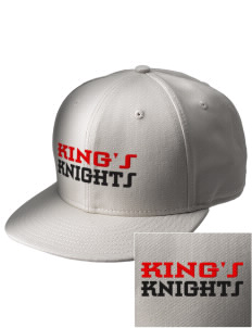 King's Junior High School Knights  Embroidered New Era Flat Bill Snapback Cap