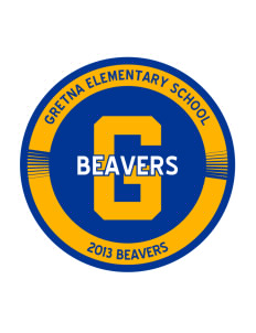 Gretna Elementary School Beavers Sticker