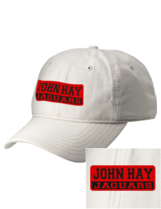 John Hay Elementary School Jaguars  Embroidered New Era Adjustable Unstructured Cap