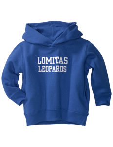 Lomitas Elementary School Leopards  Toddler Fleece Hooded Sweatshirt with Pockets