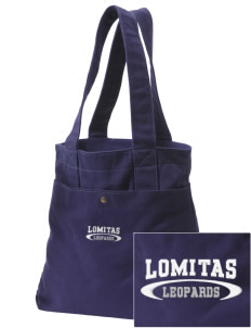 Lomitas Elementary School Leopards Embroidered Alternative The Berkeley Tote