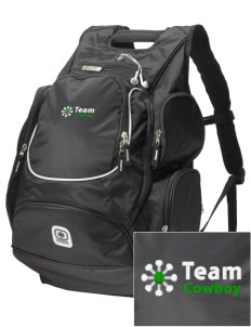 Team Cowboy Team Cowboy  Embroidered OGIO Bounty Hunter Backpack