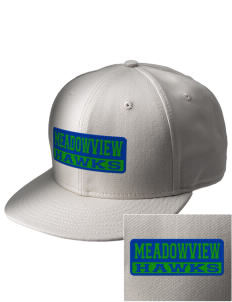 Meadowview Elementary School Hawks  Embroidered New Era Flat Bill Snapback Cap