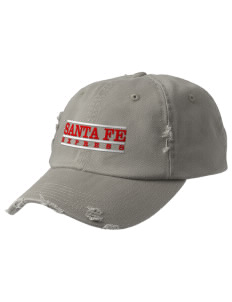 Santa Fe Elementary School South Indians Embroidered Distressed Cap