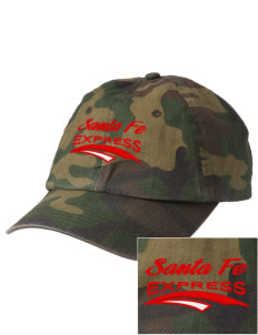 Santa Fe Elementary School South Indians Embroidered Camouflage Cotton Cap