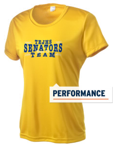Thomas Ewing Junior High School Senators Women's Competitor Performance T-Shirt