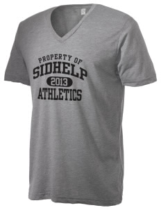 SIDHelp Athletics Alternative Men's 3.7 oz Basic V-Neck T-Shirt