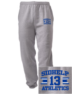 SIDHelp Athletics Embroidered Men's Sweatpants with Pockets