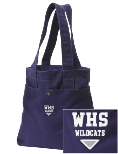Wilmington High School Wildcats Embroidered Alternative The Berkeley Tote