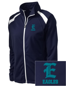 Trinity Lutheran School Eagles Embroidered Women's Tricot Track Jacket