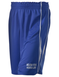 "Meadow View School Mountain Lions Holloway Women's Piketon Short, 8"" Inseam"