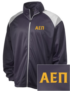 Alpha Epsilon Pi Embroidered Men's Tricot Track Jacket