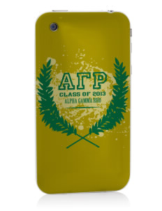Alpha Gamma Rho Apple iPhone 3G/ 3GS Skin