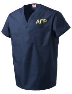 Alpha Gamma Rho V-Neck Scrub Top