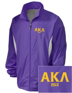 Alpha Kappa Lambda Embroidered Holloway Men's Full-Zip Jacket
