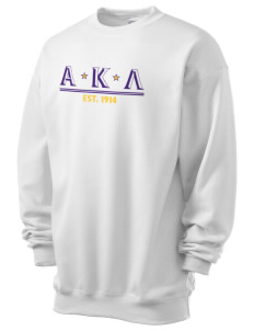 Alpha Kappa Lambda Men's 7.8 oz Lightweight Crewneck Sweatshirt