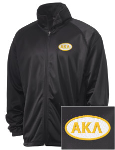Alpha Kappa Lambda Embroidered Men's Tricot Track Jacket