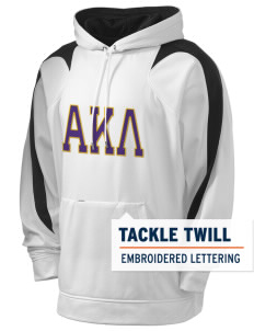 Alpha Kappa Lambda Holloway Men's Sports Fleece Hooded Sweatshirt with Tackle Twill
