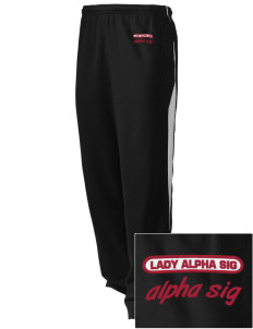 Alpha Sigma Phi Embroidered Holloway Men's Pivot Warm Up Pants