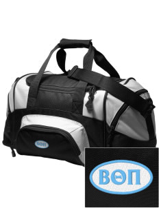 Beta Theta Pi Embroidered Small Colorblock Duffel
