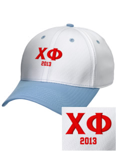 Chi Phi Embroidered New Era Snapback Performance Mesh Contrast Bill Cap