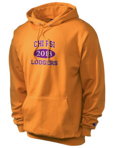 Chi Psi Champion Men's Hooded Sweatshirt