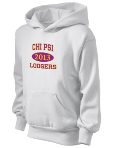 Chi Psi Kid's Hooded Sweatshirt