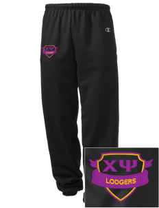 Chi Psi Embroidered Champion Men's Sweatpants