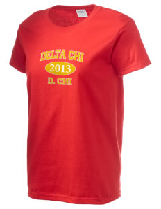 Delta Chi Women's 6.1 oz Ultra Cotton T-Shirt