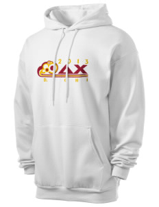 Delta Chi Men's 7.8 oz Lightweight Hooded Sweatshirt