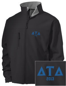 Delta Tau Delta Embroidered Men's Soft Shell Jacket