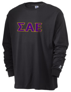 Sigma Alpha Epsilon  Russell Men's Long Sleeve T-Shirt