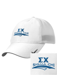 Sigma Chi Embroidered Nike Golf Mesh Back Cap