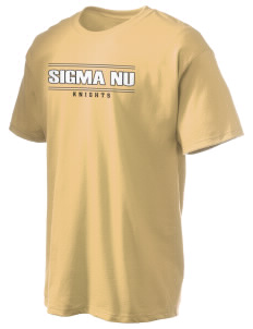 Sigma Nu Hanes Men's 6 oz Tagless T-shirt