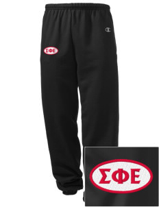 Sigma Phi Epsilon Embroidered Champion Men's Sweatpants