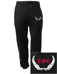 Sigma Phi Epsilon Embroidered Men's Sweatpants with Pockets