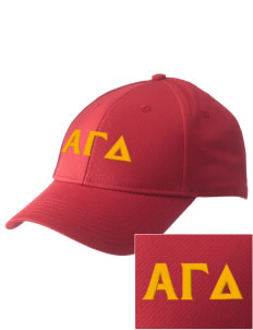 Alpha Gamma Delta  Embroidered New Era Adjustable Structured Cap