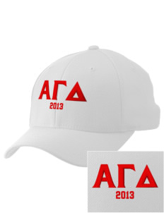 Alpha Gamma Delta Embroidered Pro Model Fitted Cap