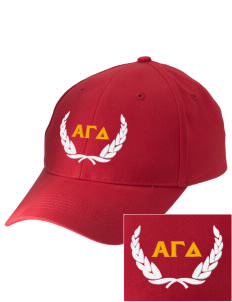 Alpha Gamma Delta Embroidered Low-Profile Cap