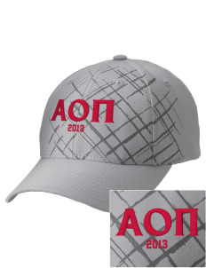 Alpha Omicron Pi Embroidered Mixed Media Cap